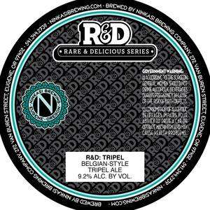 Ninkasi Brewing Company R&d: Tripel