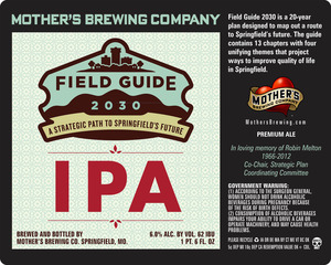 Mother's Brewing Company Field Guide IPA