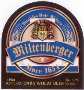 Miltenberger Dark Wheat Beer