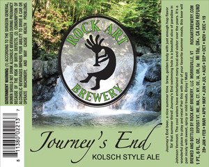 Rock Art Brewery Journey's End