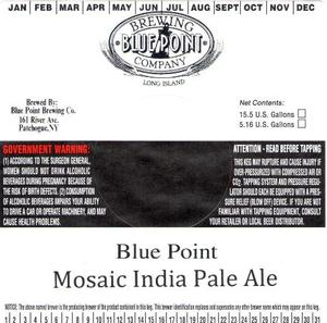 Blue Point Mosaic April 2013
