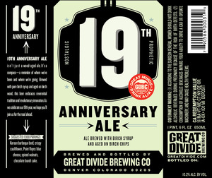 Great Divide Brewing Company 19th Anniversary