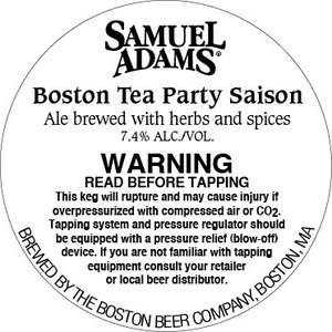 Samuel Adams Boston Tea Party