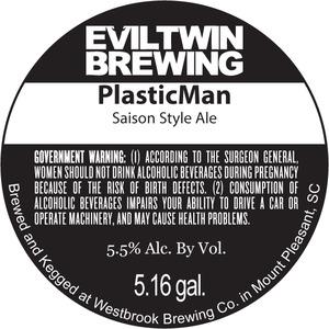 Evil Twin Brewing Plasticman
