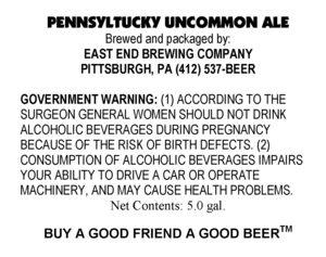 Pennsyltucky Uncommon Ale