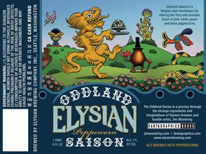 Elysian Brewing Company Oddland Peppercorn Saison