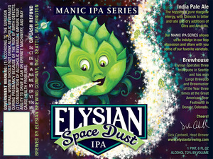 Elysian Brewing Company Space Dust