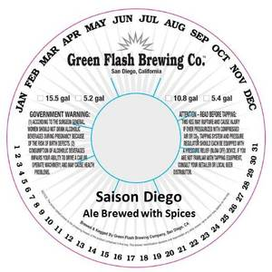 Green Flash Brewing Company Saison Diego