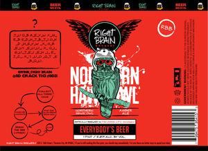 Right Brain Brewery Northern Hawk Owl