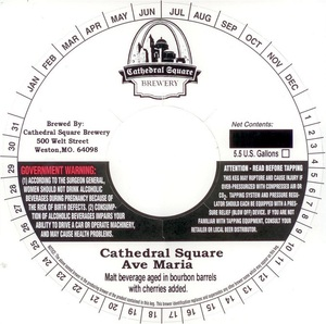 Cathedral Square Brewery Ave Maria