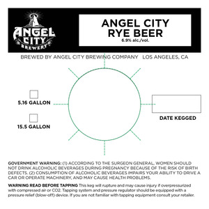 Angel City Rye Beer