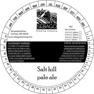 Sebago Brewing Company Salt Hill Pale Ale