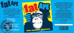 Blue Monkey Brewery Fat Ape