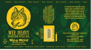 Wild Wolf Brewing Company Wee Heavy