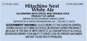 Hitachino Nest White