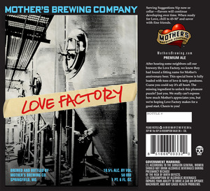 Mother's Brewing Company Love Factory