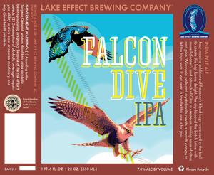 Lake Effect Brewing Company Falcon Dive IPA