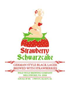 Wild Wolf Brewing Company Strawberry Schwarzcake