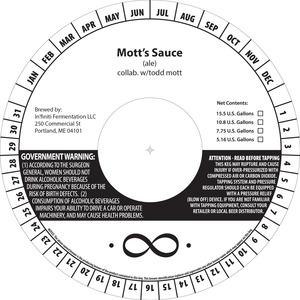 In'finiti Fermentation Mott's Sauce