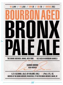 The Bronx Brewery Bourbon Aged Bronx Pale Ale
