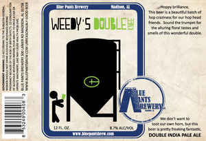 Blue Pants Brewery Weedy's Double Knee