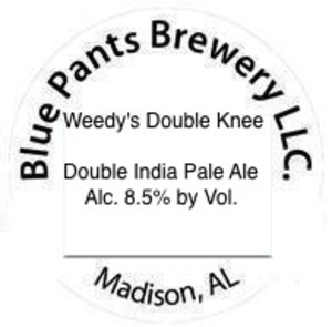 Blue Pants Brewery LLC Weedy's Double Knee