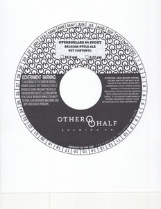 Other Half Brewing Co. Overboelare 64 Stout
