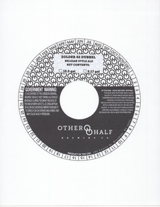 Other Half Brewing Co. Zolder 02 Dubbel