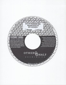 Other Half Brewing Co. H-g 07 Flemish Red