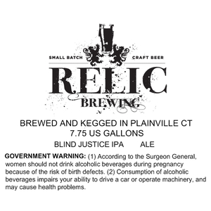 Relic Brewing Blind Justice