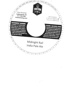 Triton Brewing Midnight Rail