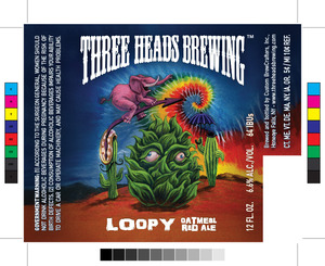 Three Heads Brewing Loopy Oatmeal Red