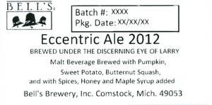 Bell's Eccentric Ale 2012