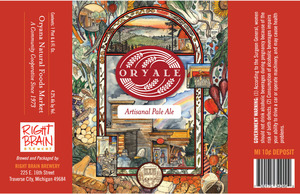 Right Brain Brewery Oryale