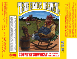 Three Heads Brewing Country Shwheat