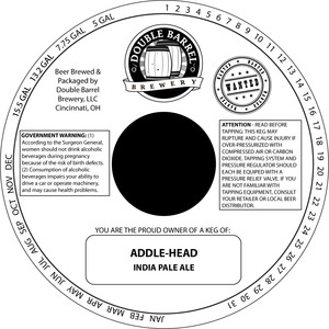 Double Barrel Brewery Addle Head