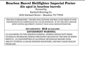 Karbach Brewing Co. Bourbon Barrel Hellfighter Imperial