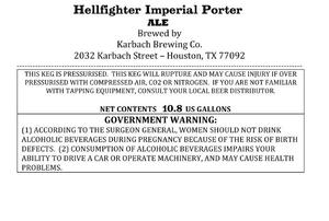 Karbach Brewing Co. Hellfighter