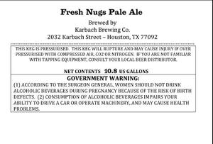 Karbach Brewing Co. Fresh Nugs