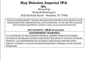 Karbach Brewing Co. Hop Delusion