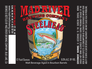 Mad River Brewing Company Steelhead Bourbon Barrel Aged Extra