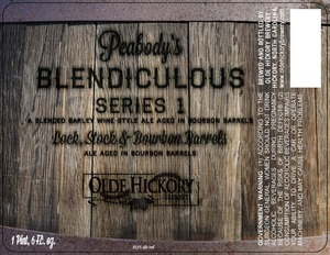 Olde Hickory Brewery Lock, Stock et Bourbon Barrel