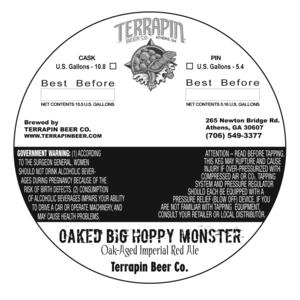 Terrapin Oaked Big Hoppy Monster