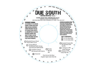 Due South Brewing Co One Across The Bow