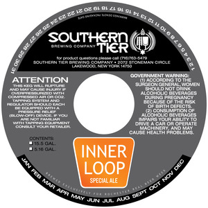 Southern Tier Brewing Company Inner Loop