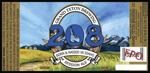 Grand Teton Brewing 208