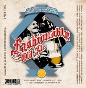 Smuttynose Brewing Co. Fashionably Old Ale