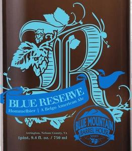 Blue Mountain Barrel House Blue Reserve