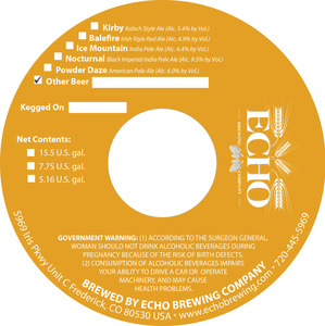 Echo Brewing Company