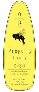 Propolis Sahti